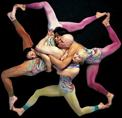 Pilobolus dancers (reprinted with permission)